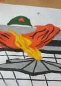 Вероника-Байбуз-рисует-к-Дню-Победы